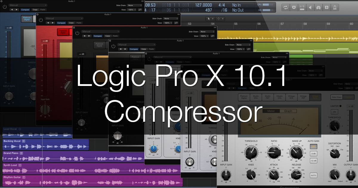 Logic Pro X 10.1 Compressor Explained