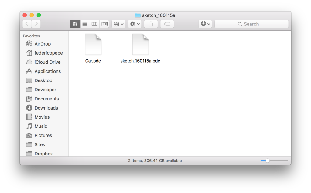 Sketch Folder