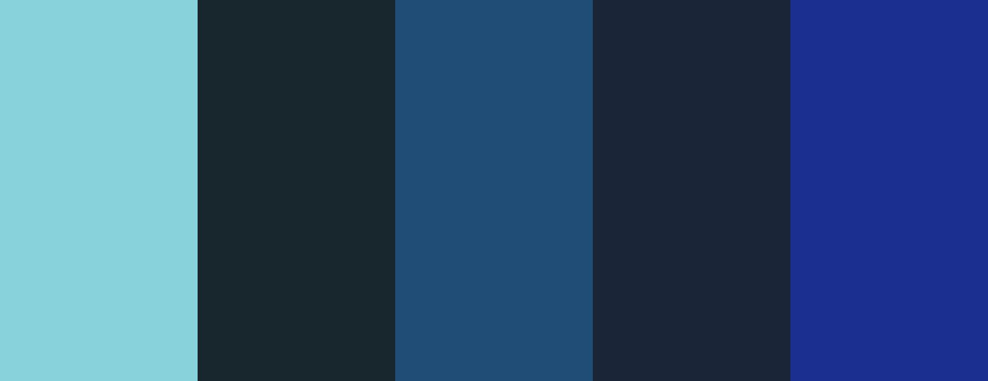 Palette di colori in Processing