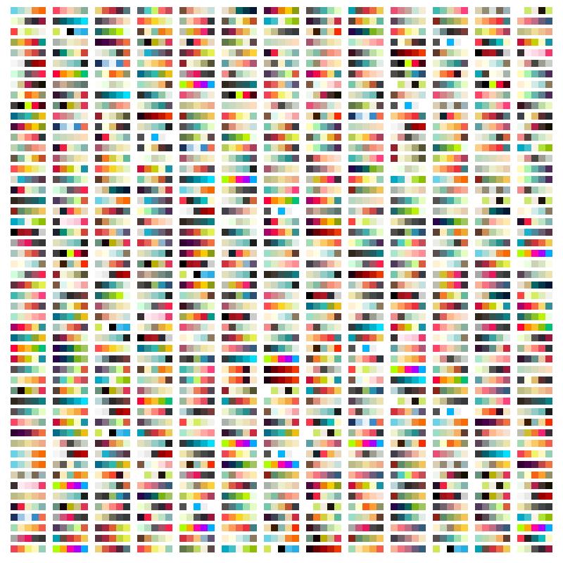 Nice Color Palettes per Processing